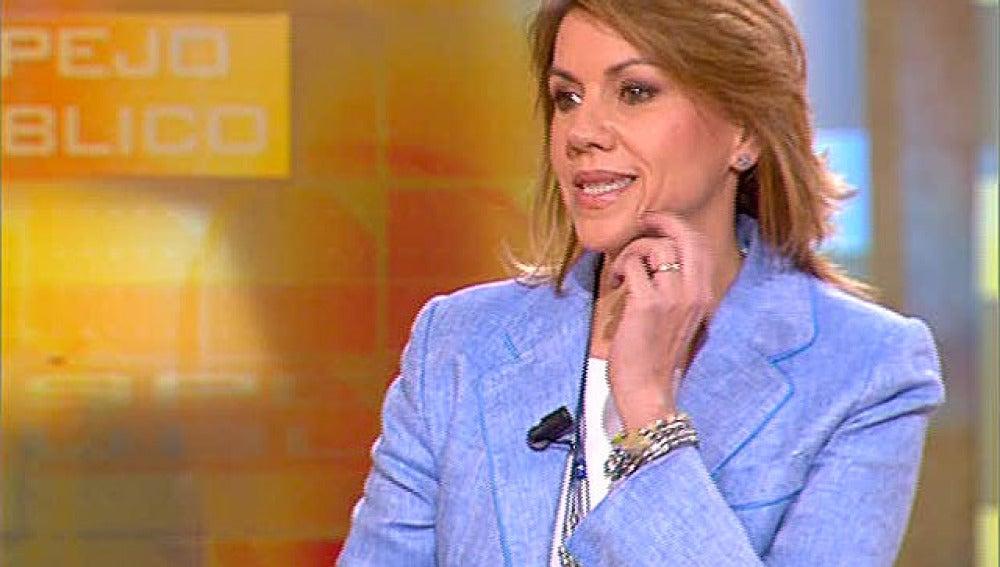 María Dolores de Cospedal, en Espejo Público