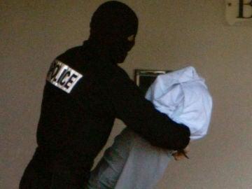 El ex jefe de ETA en el arresto
