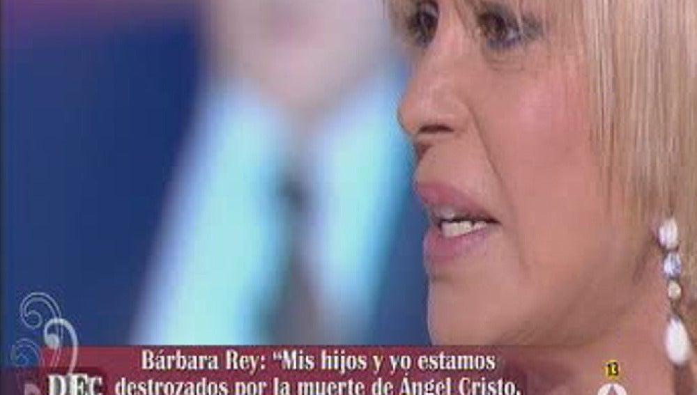 Bárbara Rey cabreada