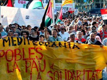 Manifestación en Barcelona