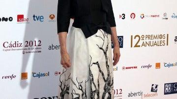 Laura Valenzuela acudió a la gala