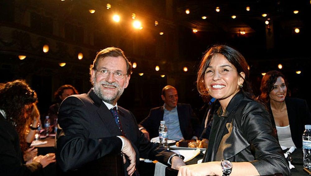 Mariano Rajoy en el teatro