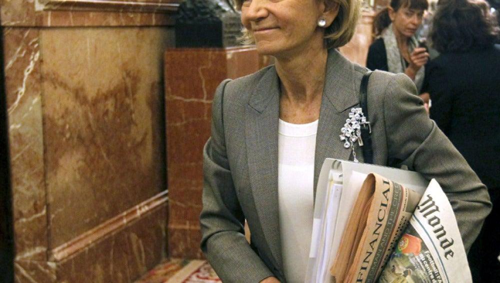 Elena Salgado, sobre la reforma