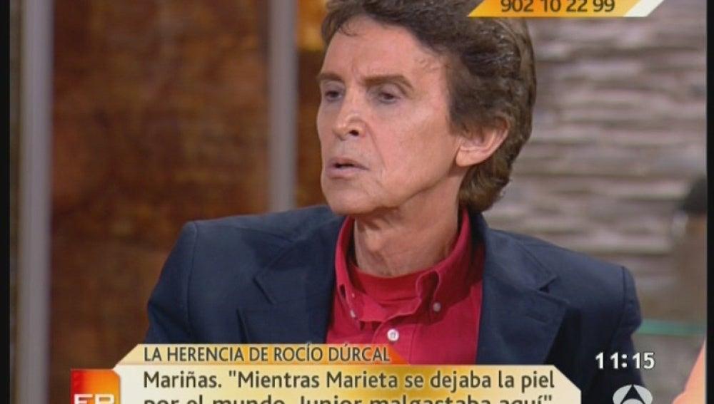 """""""Marieta trabajaba mucho"""""""
