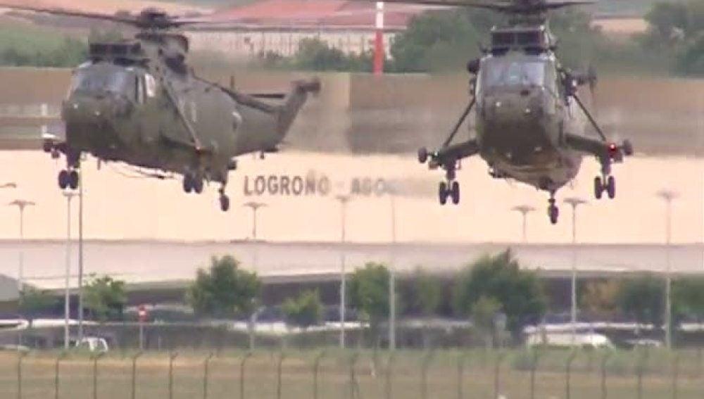 Entrenamiento de helicópteros
