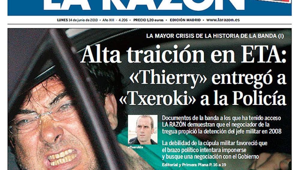 Alta traición en ETA