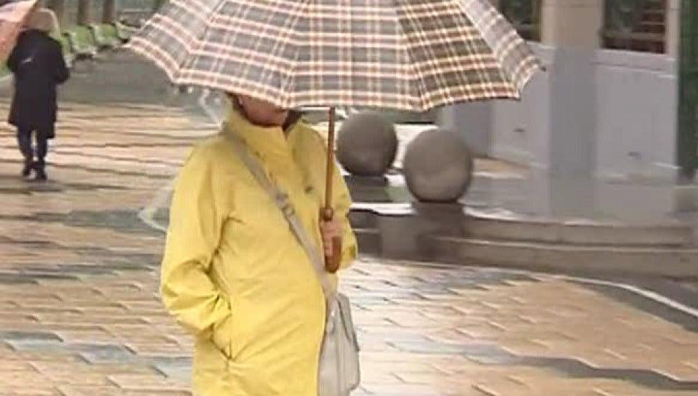 Las lluvias se trasladan a Aragón y Cataluña