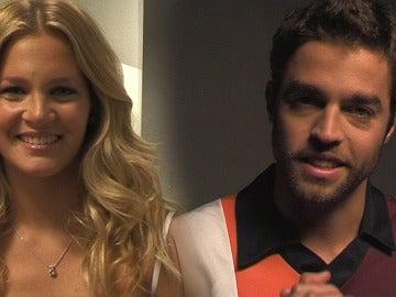 Liz Solari y Tomás de las Heras mandan un saludo a los fans de Champs 12