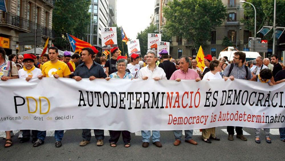 Consultas soberanistas en Cataluña