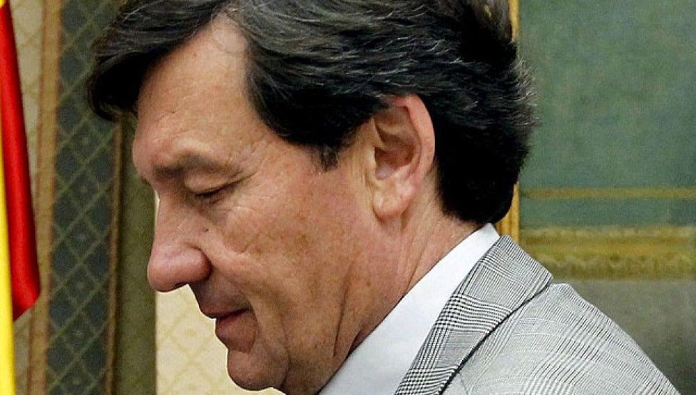 Antonio Gutiérrrez en el Congreso de los Diputados