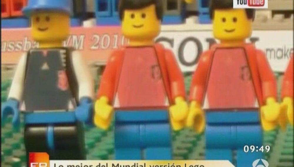 El Mundial según Lego