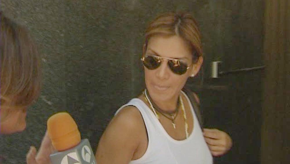 Ivonne Reyes en los Juzgados