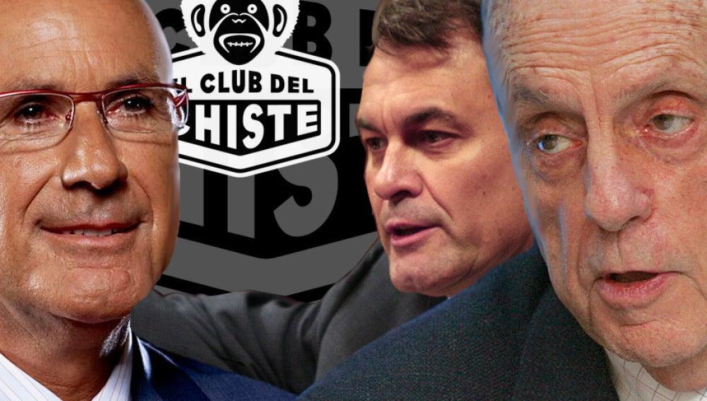 Políticos en El Club del Chiste