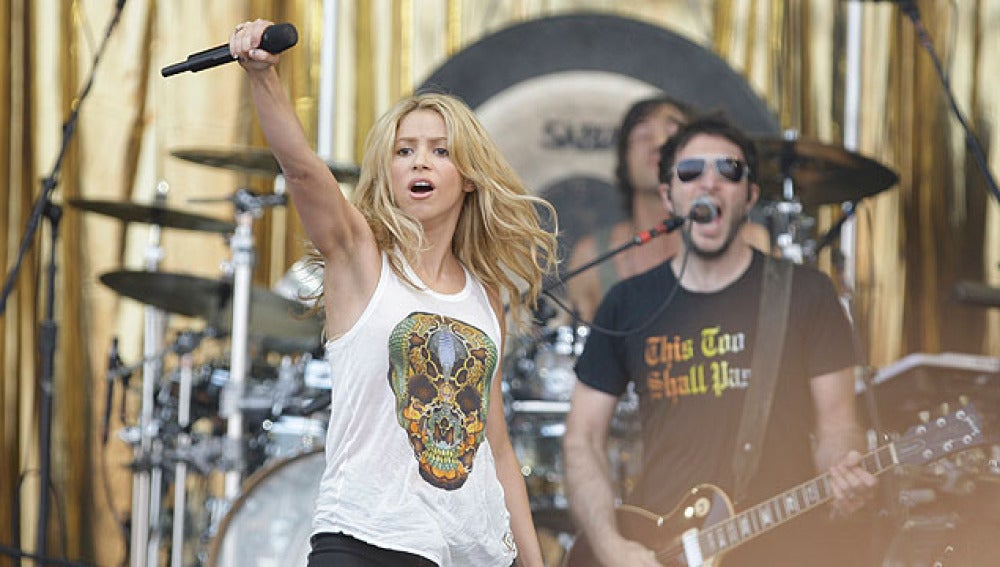 Shakira en Glastonbury