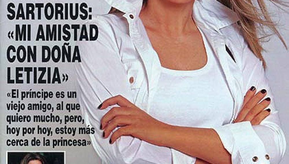 Isabel Sartorius es portada en las revistas