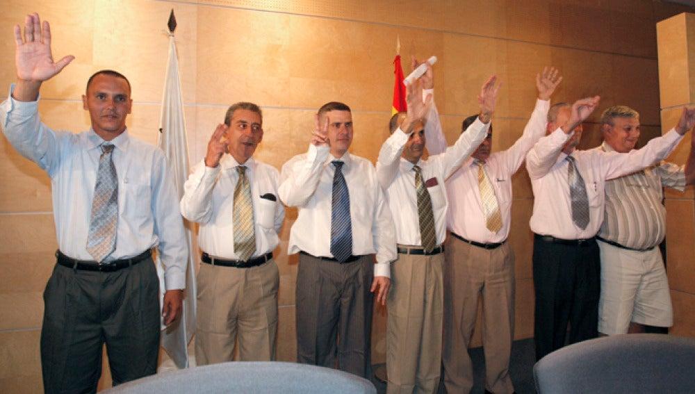 Llegan a España los primeros presos liberados por el gobierno cubano