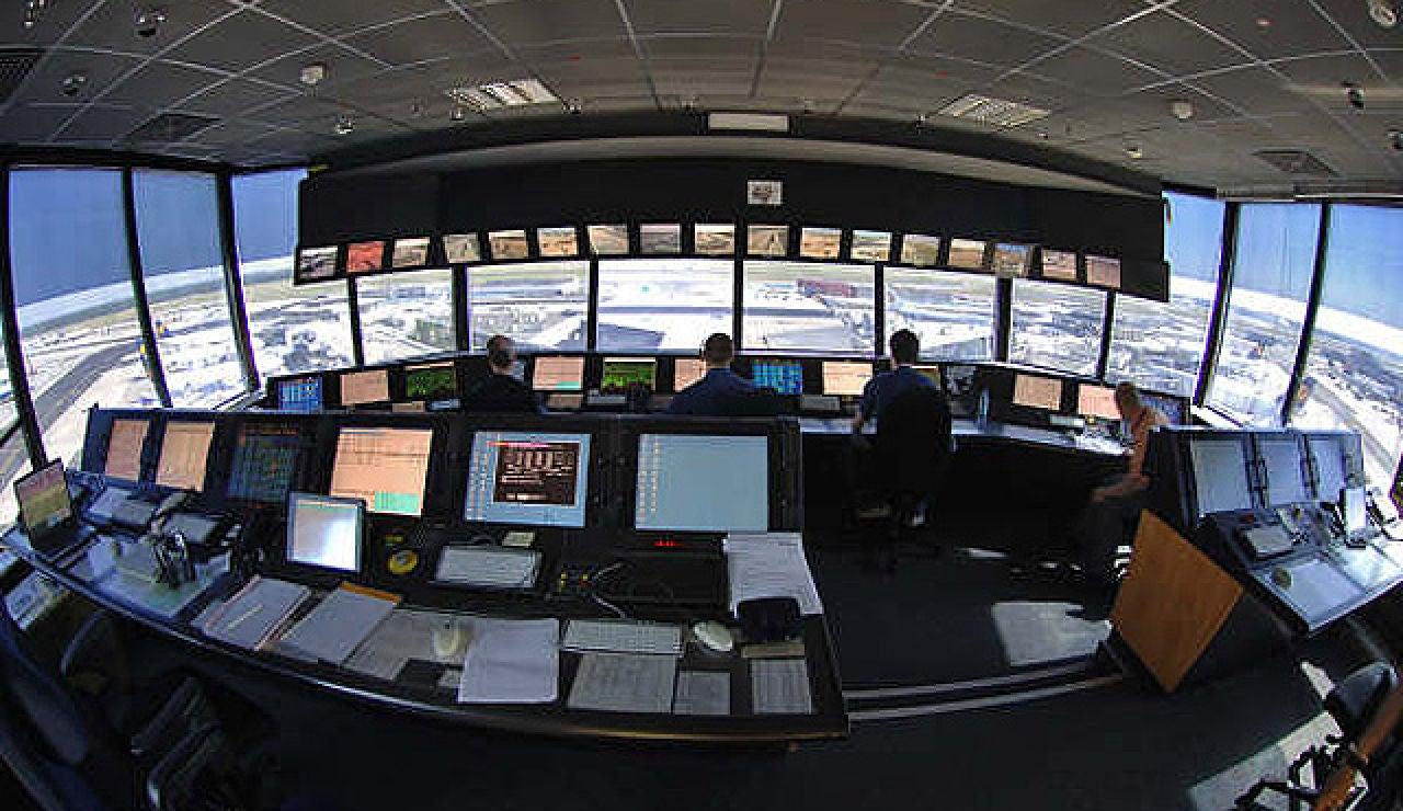 Torre de control aéreo