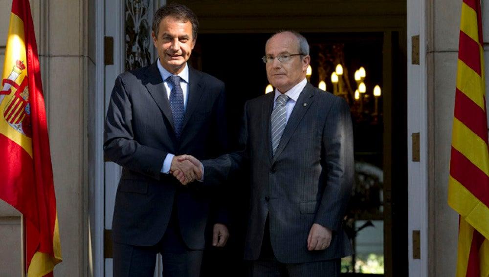 Zapatero y Montilla