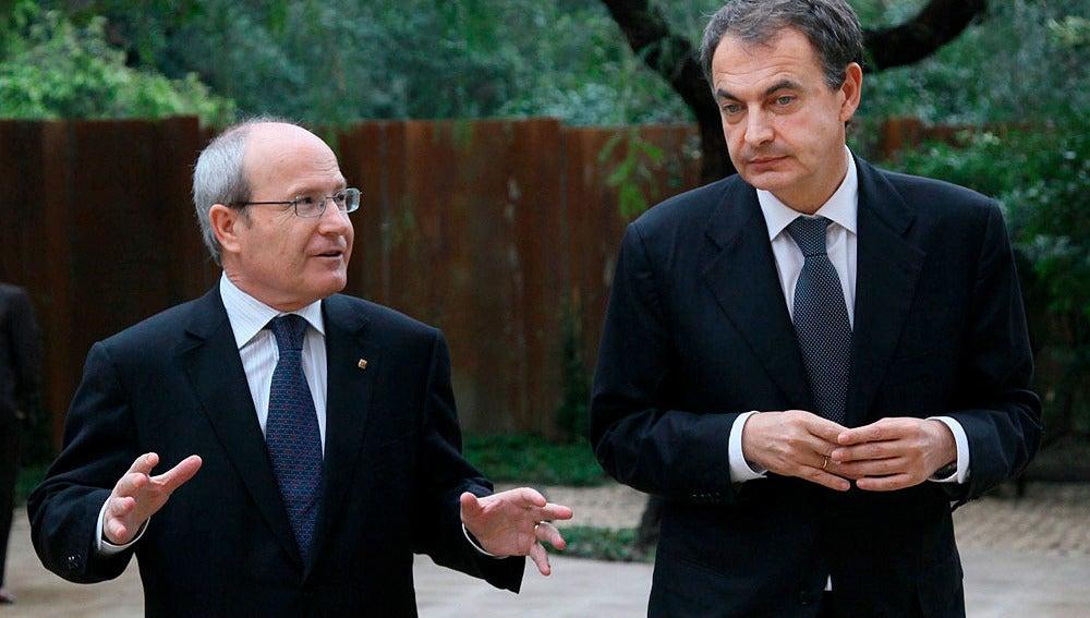 Zapatero con Montilla
