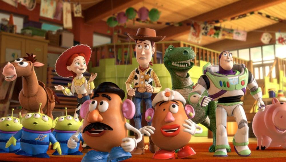 Una escena de Toy Story 3