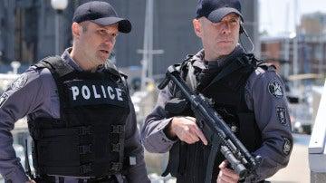La élite policial forma el equipo SRU