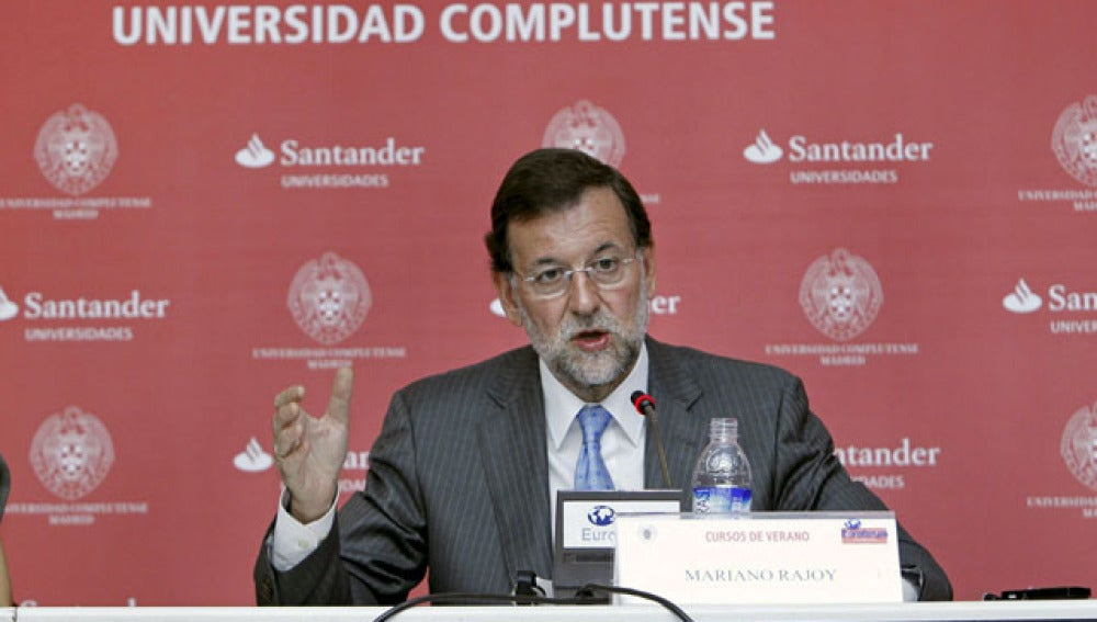 Rueda de prensa de Rajoy