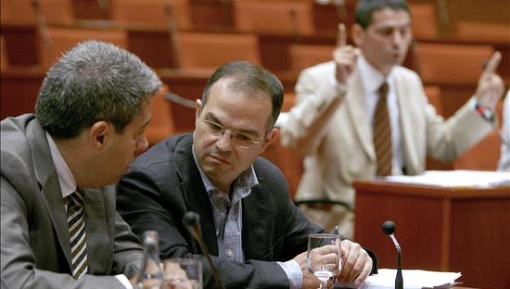 Jordi Turull y Francesc Homs de CiU