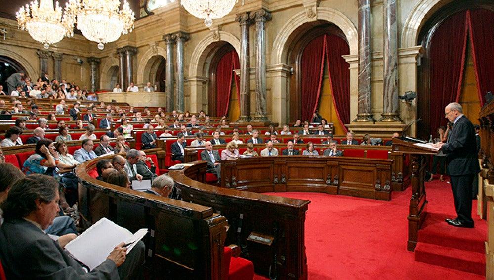Pleno extraordinario del Parlament