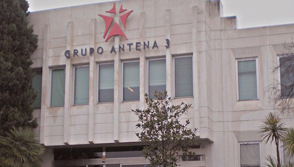 Entrada principal del Grupo Antena 3
