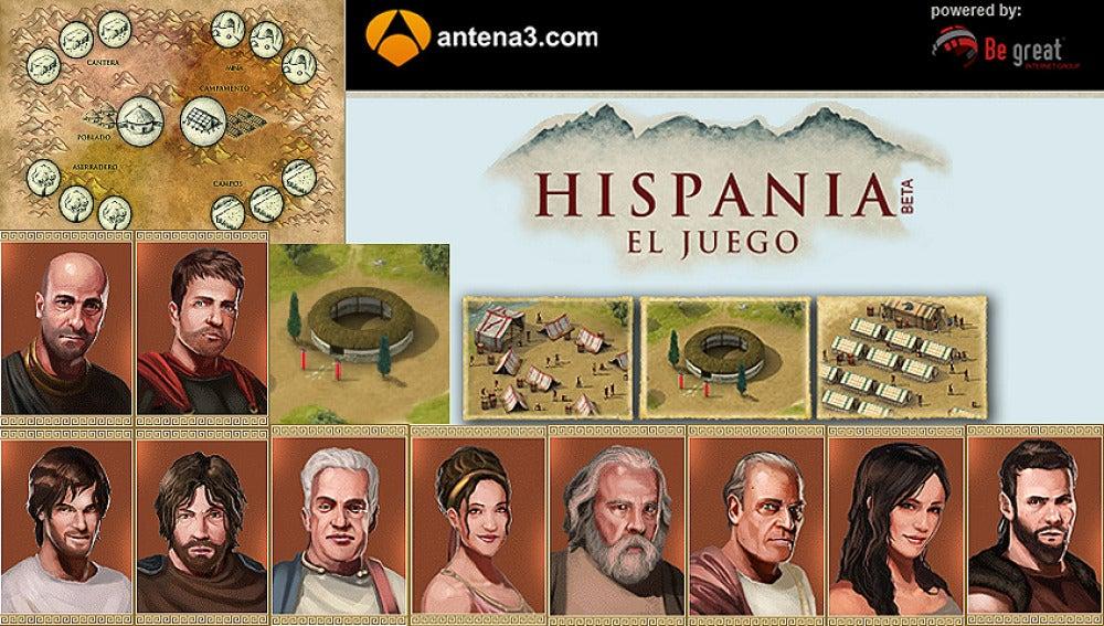 Hispania, el videojuego