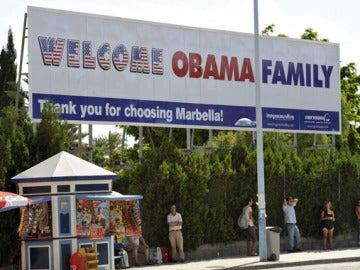 Marbella espera con impaciencia a Michelle Obama