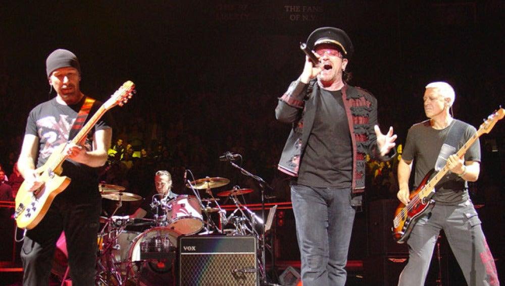U2 de concierto