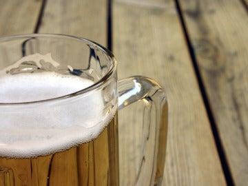 Una jarra de cerveza