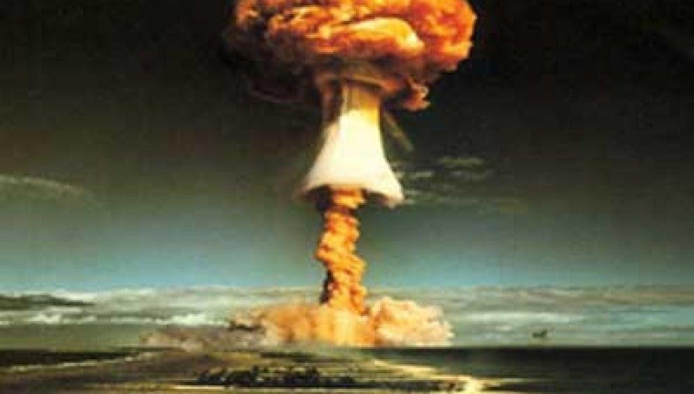Bomba atómica en Hiroshima