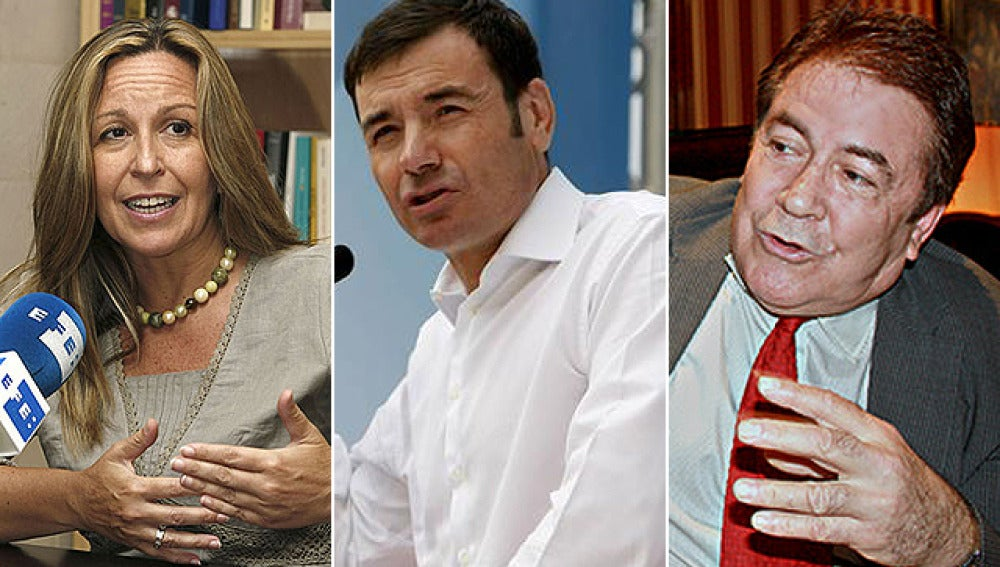 Jiménez, Gómez y Gimeno, primarias a la vista
