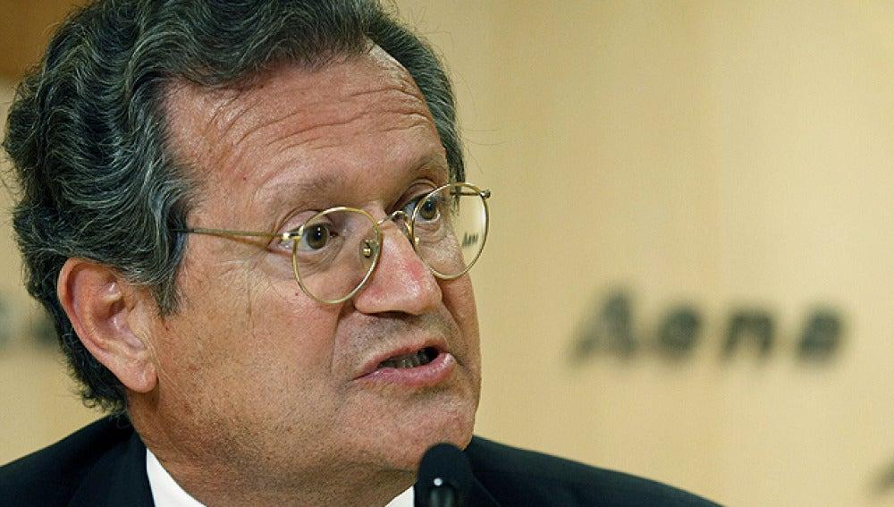 Juan Lema, presidente de AENA