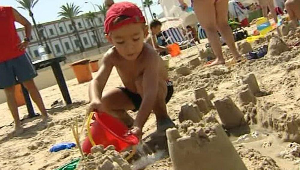 Concurso de castillos de arena
