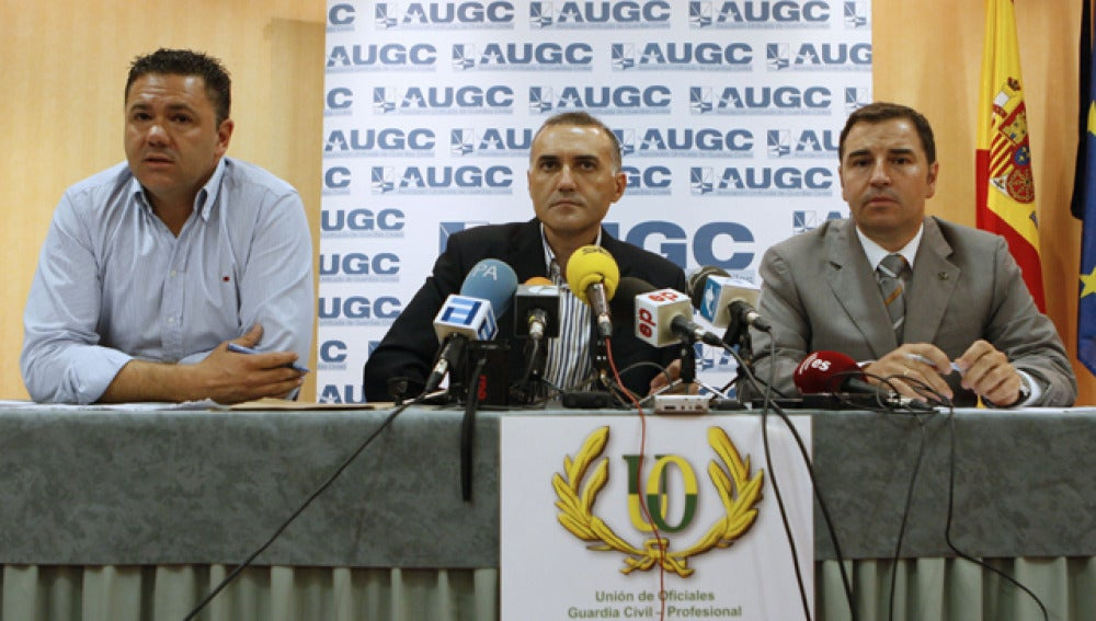 Miembros de la AUGC y la UO