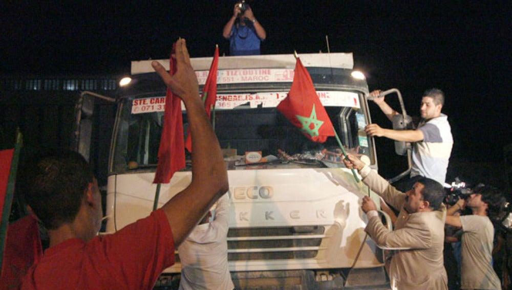 Nueva jornada de bloqueo en Melilla