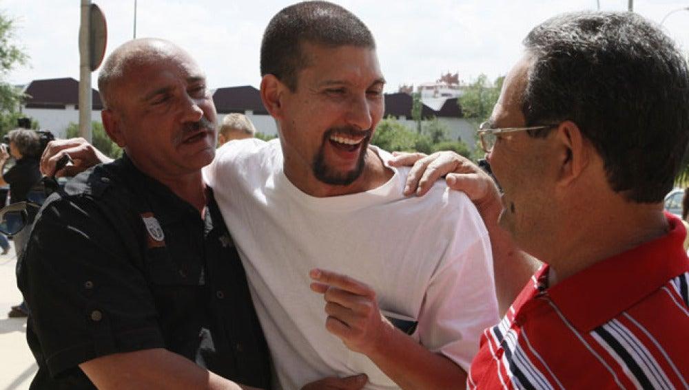Los disidentes celebran su excarcelación