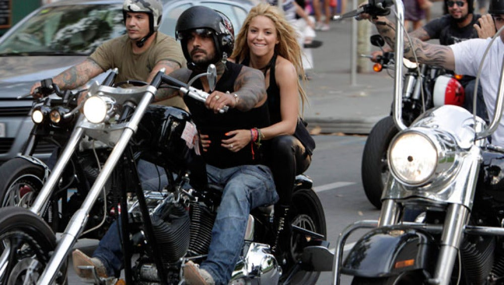 Shakira revoluciona Barcelona