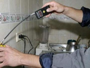 Falso revisor del gas