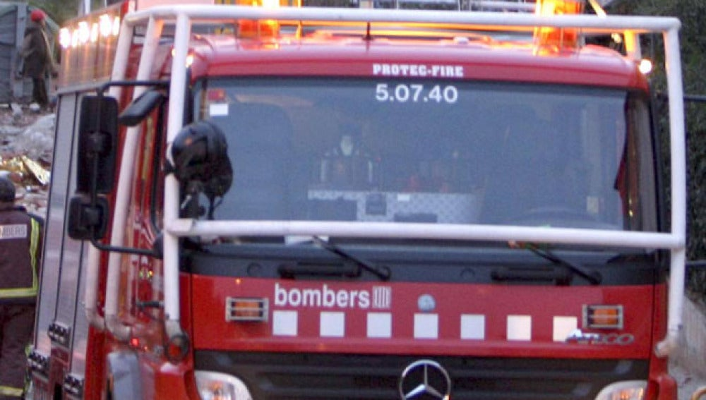 Camión de bomberos en Cataluña