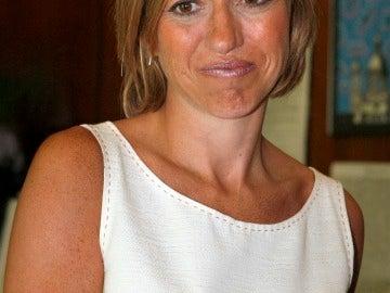La ministra Chacón