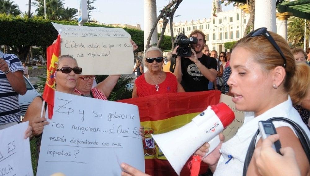 Concentración en Melilla