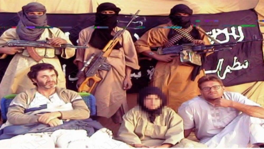 Los secuestrados por Al Qaeda