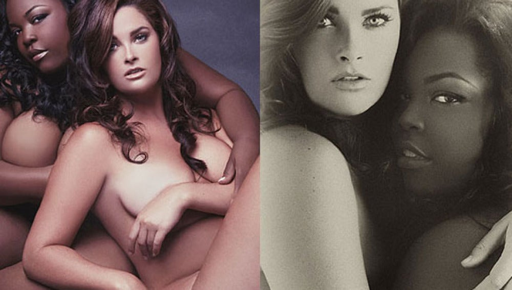 Whitney Thompson, con Chenese Lewis