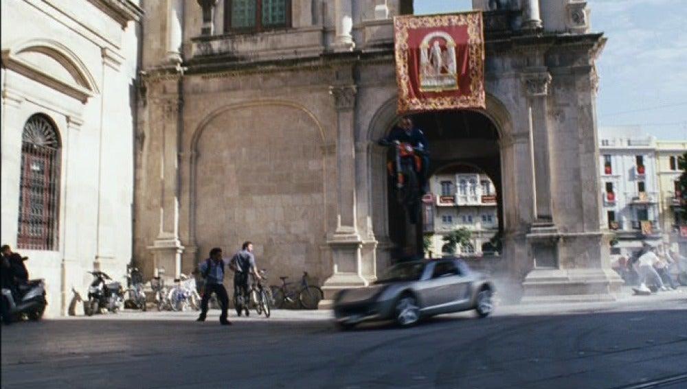 Escena de 'Noche y día' en Sevilla