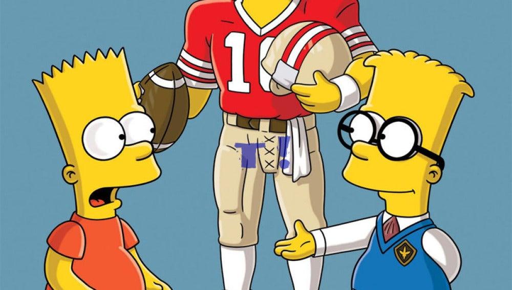 La aparición del ex jugador de fútbol americano, Joe Montana