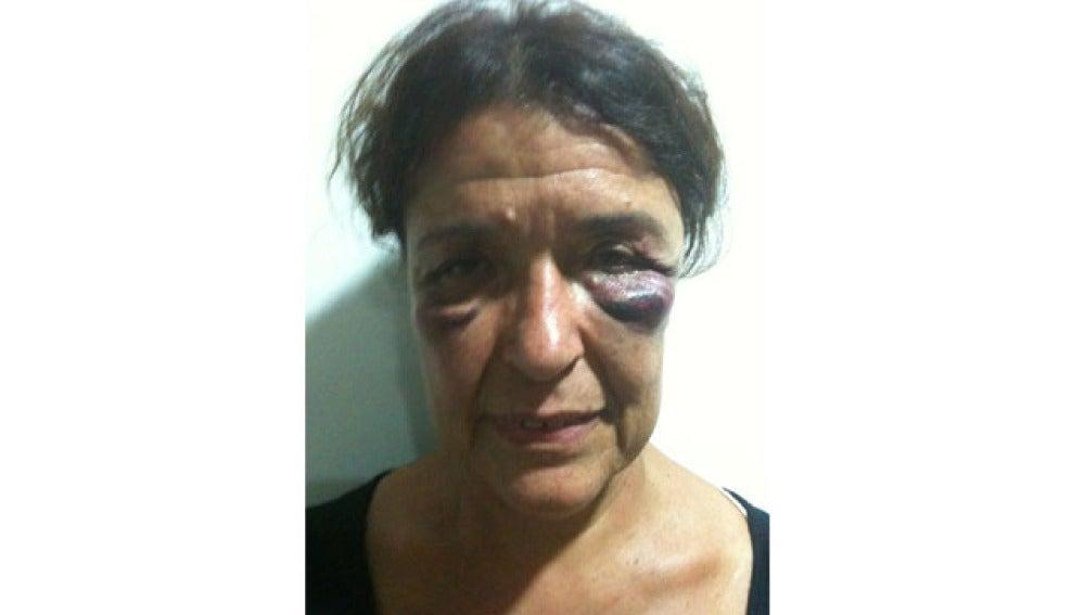 Carmen Roger, una de las activistas